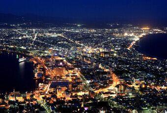 北海道函館山百萬夜景