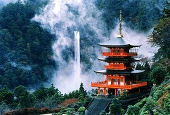 和歌山那智瀑布