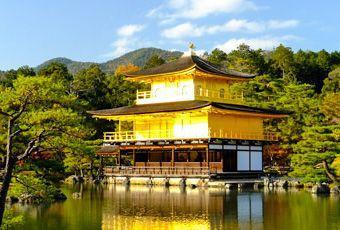 京都金閣寺-名勝古剎