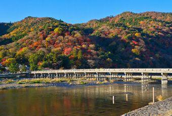 京都嵐山渡月橋