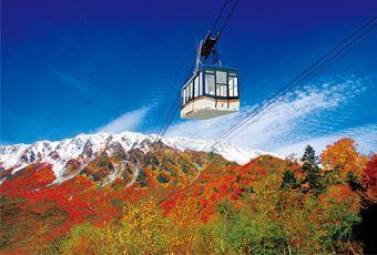 黑部立山秋季楓紅