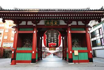 東京淺草觀音寺旅遊