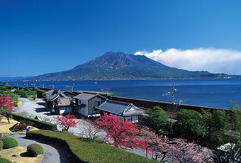 九州櫻島火山