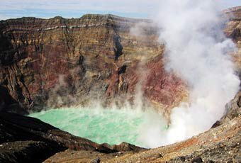 九州阿蘇ASO火山