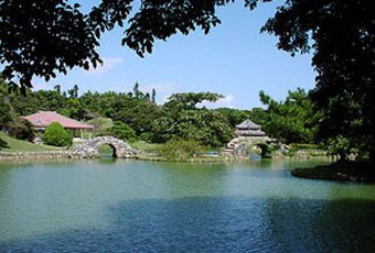 沖繩識名園