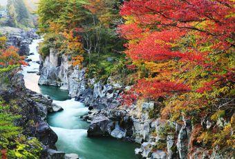 日本東北嚴美溪