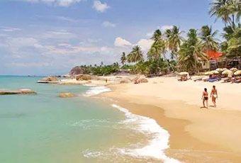 蘇美島拉邁海灘