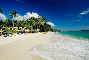 蘇美島查汶海灘