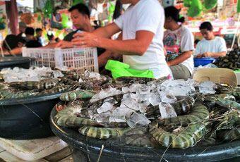 長灘島D'talipapa海鮮市場