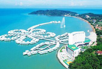 吉隆坡大紅花海上泳池VILLA渡假村