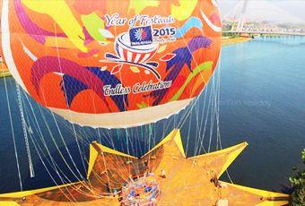 吉隆坡熱氣球升空體驗