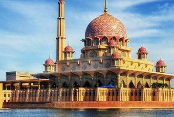 吉隆坡水上粉紅清真寺