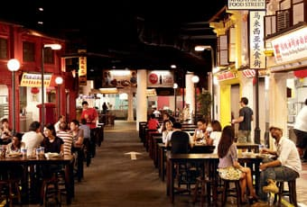 馬來西亞美食街