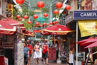 新加坡牛車水Chinatown