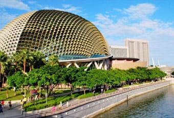 新加坡濱海藝術中心Esplanade