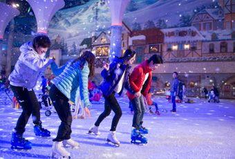 首爾冰雪主題公園ONE Mount snow park