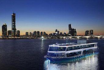 韓國首爾漢江遊覽船