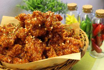 韓國首爾韓式炸雞