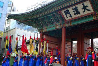 韓國首爾德壽宮