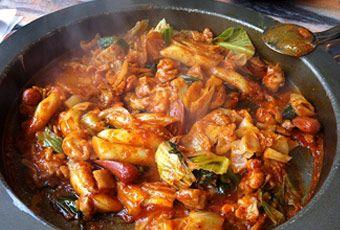 韓國首爾春川家辣炒雞排