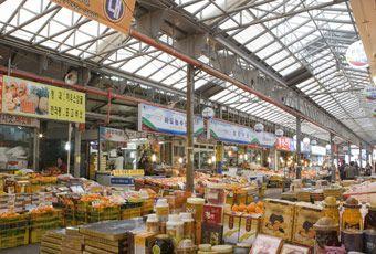 濟州島東門傳統市場