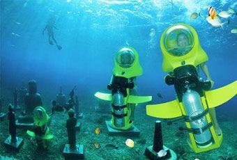 巴里島海底摩托車