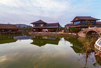 太湖拈花灣小鎮