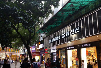 珠海蓮花路步行街