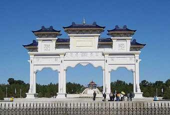 蒙古成吉思汗陵