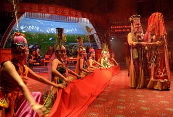 蒙古鄂爾多斯婚禮