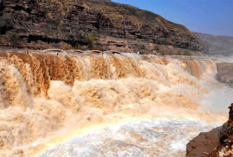 山西黃河壺口瀑布