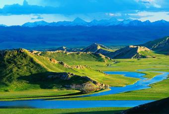 新疆巴音布魯克草原