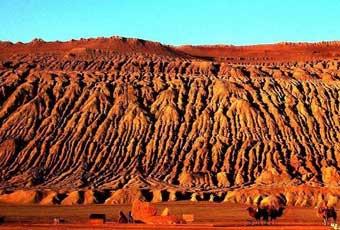 新疆吐魯番火焰山