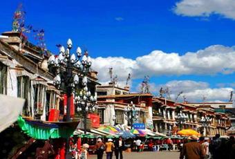 西藏八廓街