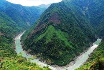 西藏雅魯藏布大峽谷