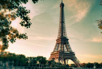 法國旅遊艾菲爾鐵塔