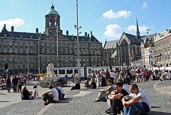 荷蘭旅遊水壩廣場