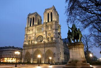 法國巴黎聖母院