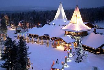 北歐羅瓦涅米的聖誕老人村