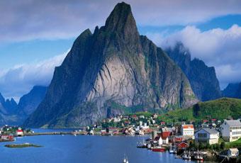 北歐挪威西部峽灣