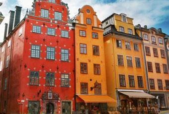 北歐斯德哥爾摩老城