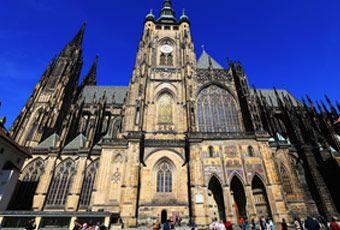 捷克旅行布拉格城堡