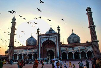 印度旅遊賈瑪清真寺
