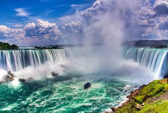 加拿大旅遊尼加拉大瀑布