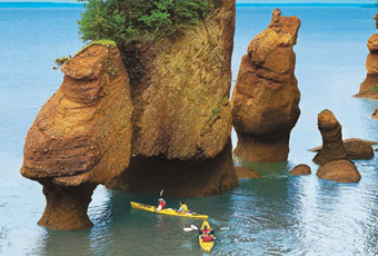 加東芬迪灣/霍普威爾岩