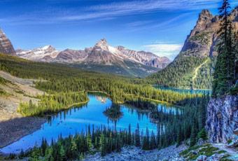 加拿大旅遊洛磯山脈