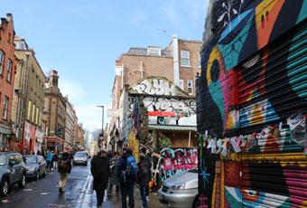 英國倫敦紅磚巷