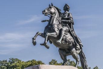 青銅騎士像