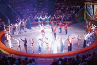 馬戲團表演