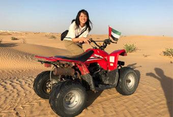 杜拜沙漠衝沙